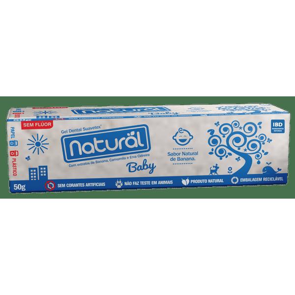 Gel-Dental-Natural-Baby-com-extratos-de-Banana-Camomila-e-Erva-Cidreira