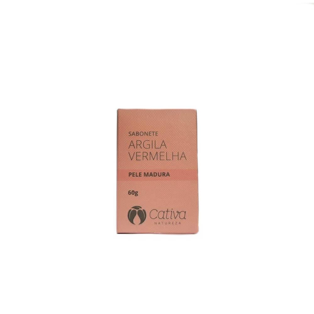 Sabonete-Organico-de-Argila-Vermelha-para-pele-madura-Cativa-Natureza-60g
