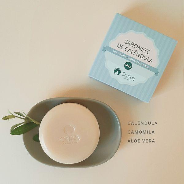 Sabonete-Baby-Organico-Calendula-Cativa-Natureza-100-g